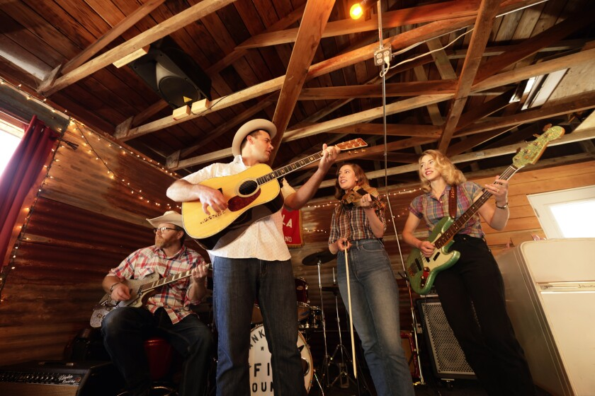 Hank & Ella with the Fine Country Band return from their pandemic layoff with a show Saturday at Michael's on Main in Soquel.