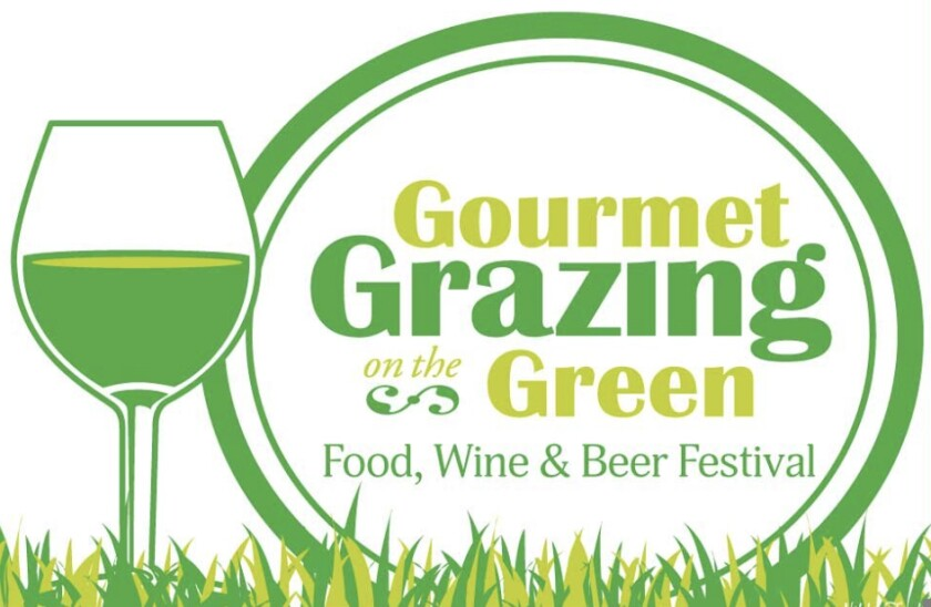 A flyer for Gourmet Grazing on the Green