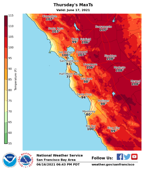 Temperatures expected to break records as heat advisory in effect for Santa Cruz County