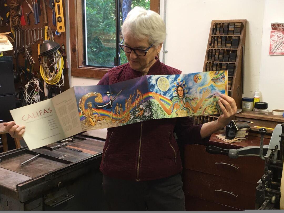 Celebrated book-artist Felicia Rice
