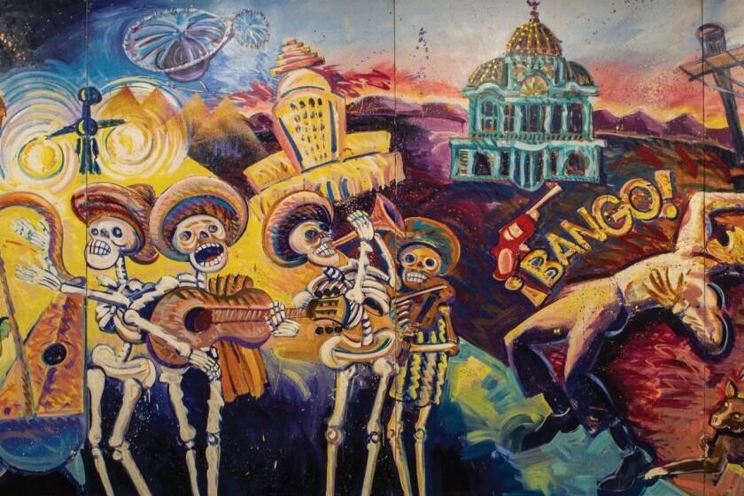 """¡Méjico, Mexico!,"" by Frank Romero painting"