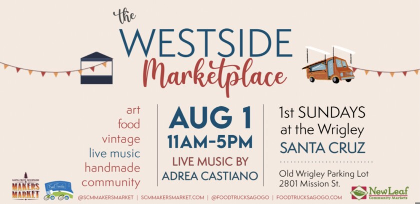 A promotional flyer for the Westside Marketplace