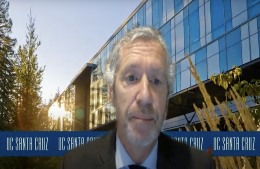 UC Santa Cruz economics professor Rob Fairlie.