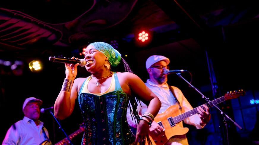 SambaDá, the popular Afro-Samba-Funk-Dance-Music group had become a pre-pandemic Moe's staple.