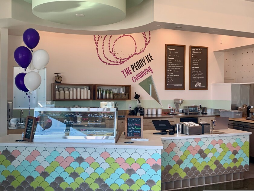 Penny Ice Creamery is Scotts Valley is now open.