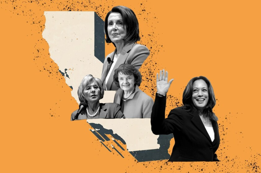 The first female vice president-elect and House Speaker both come from California.