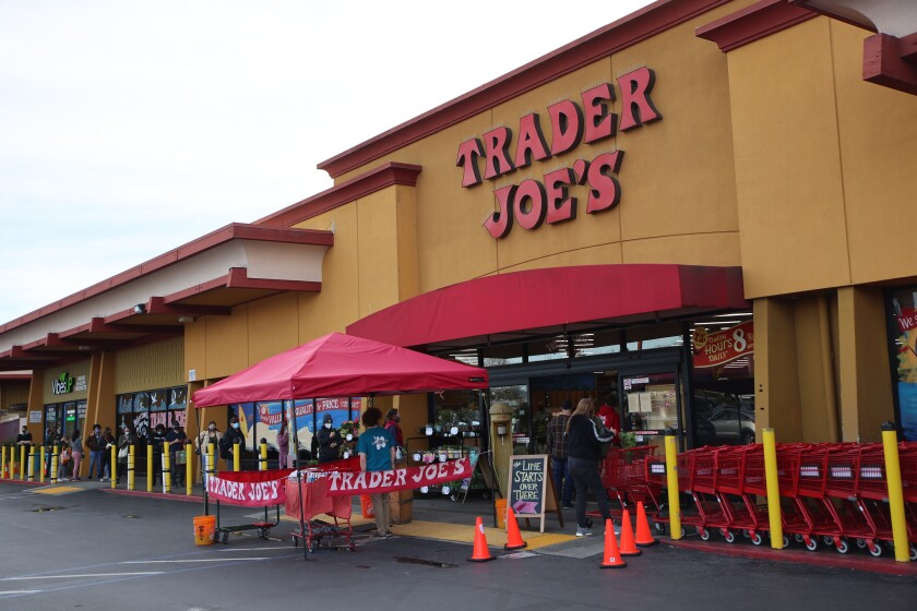 The Trader Joe's store in downtown Santa Cruz.