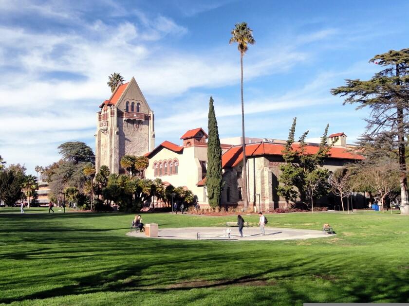 San Jose State University.