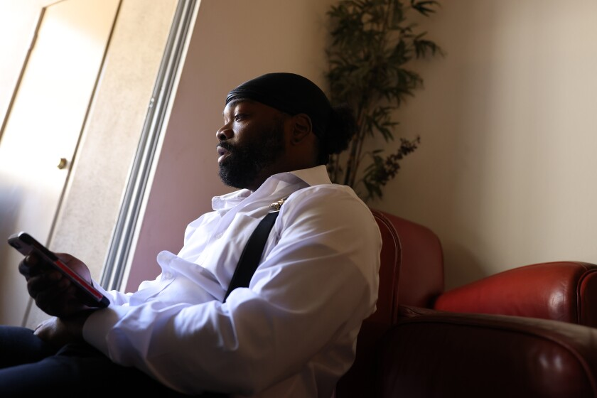 Tory Johnson, founder of Black Lives Matter Huntington Beach