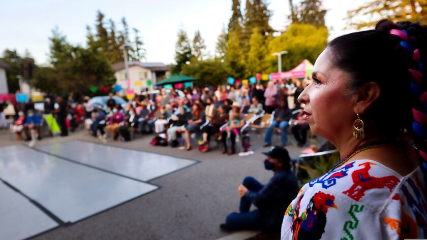 Hundreds turned out in Aptos on Friday night for the Rise Together kickoff.
