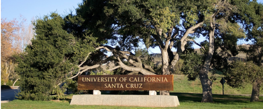 UC Santa Cruz sign