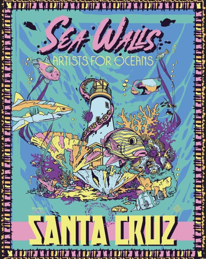 Poster for Sea Walls Santa Cruz