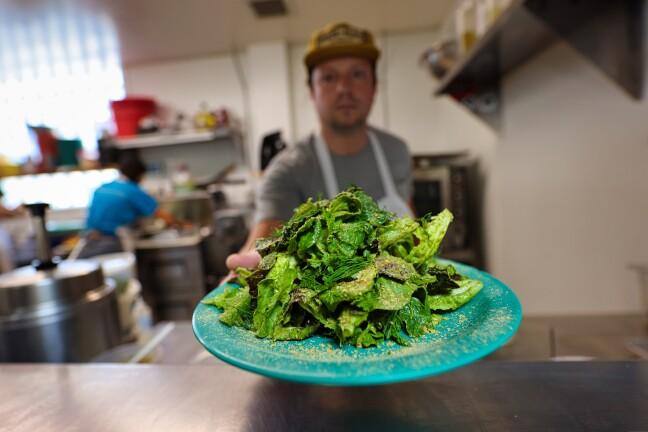 The Avocado Green Goddess Salad at Rustic Ales Kitchen in Santa Cruz.