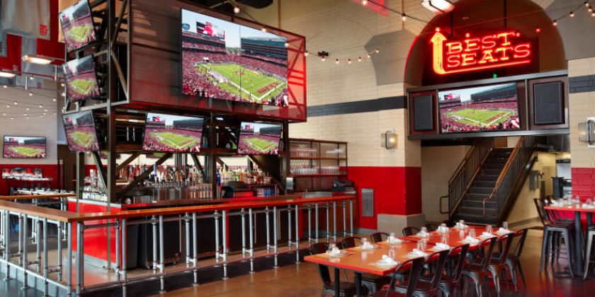 A bar at Levis Stadium