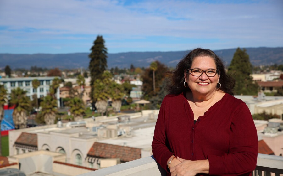 MariaElena De La Garza, executive director of Watsonville-based Community Action Board of Santa Cruz County