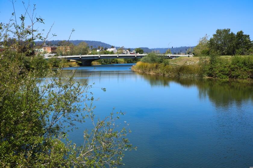 The San Lorenzo River