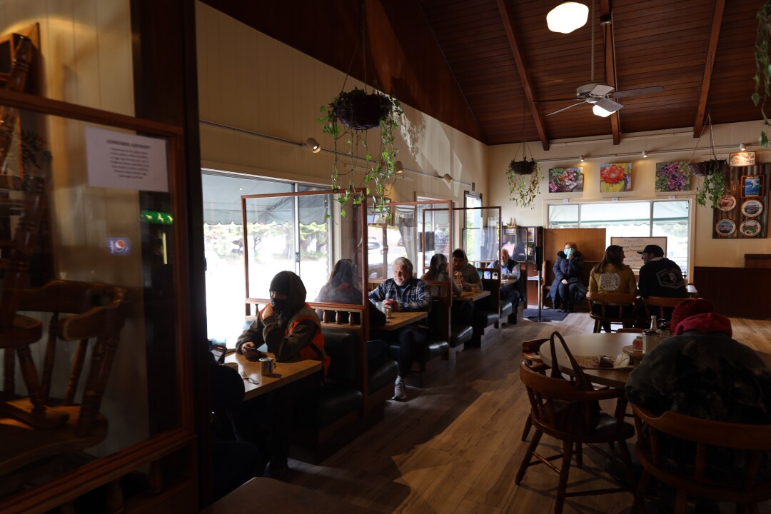 The Silver Spur in Soquel saw customers flock back to indoor dining.