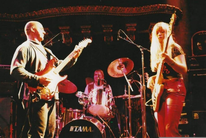 The trio at the Great American Music Hall in San Francisco.