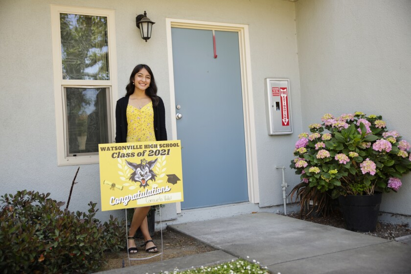Consuelo Vidal-Perez is headed to college at USC and hopes to become an immigration attorney.