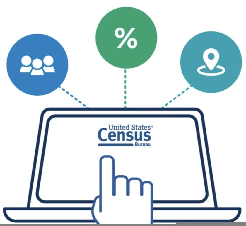 An illustration of U.S. Census Bureau data