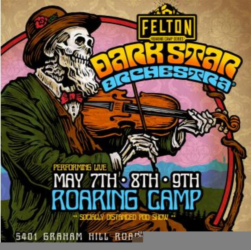 The band Dark Star Orchestra will kick off the Felton Roaring Camp music series May 7, 8 and 9.