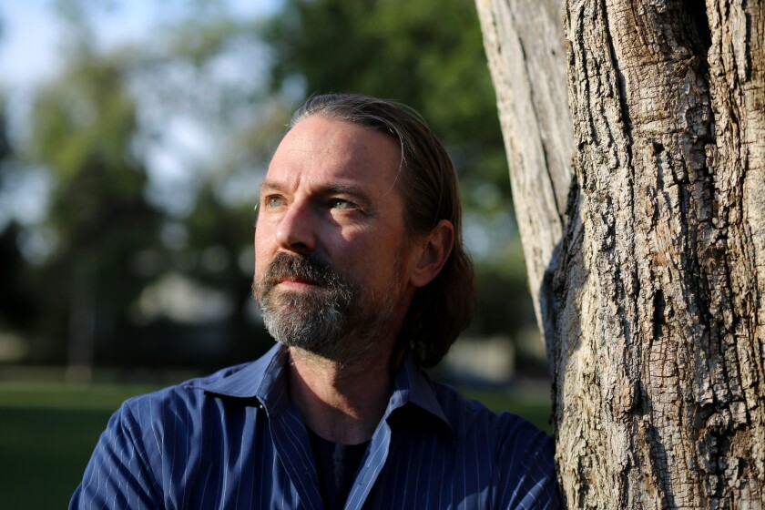 David Walter, an adjunct professor at UC Berkeley lecturing on humanities and creative writing