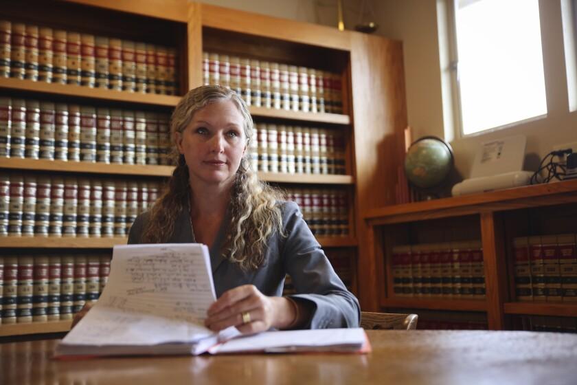 Heather Rogers, Santa Cruz County's first public defender.