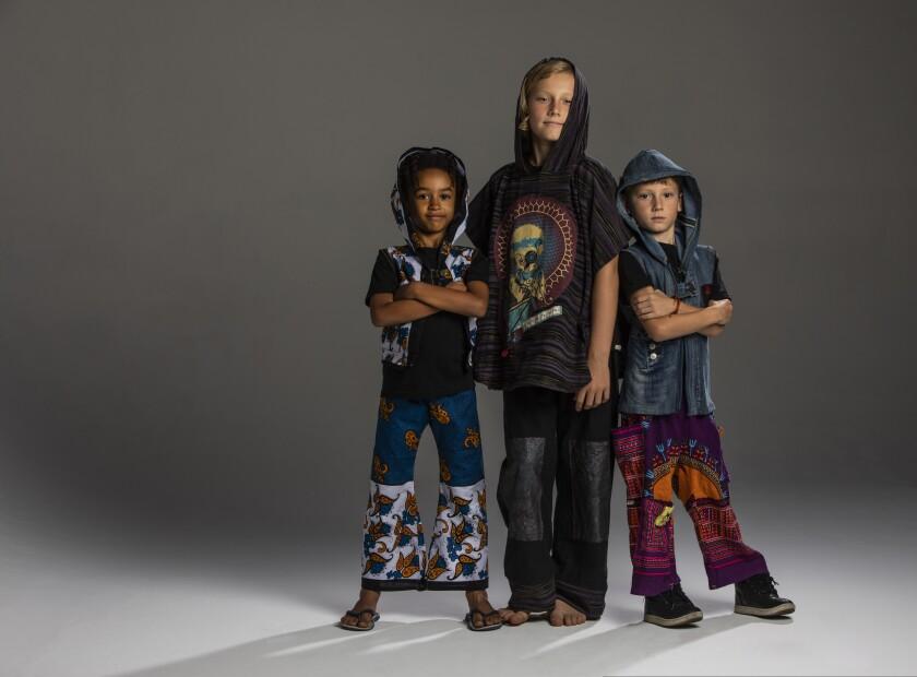 Santa Cruz-based startup Lil Jax recycles adult clothing into children's fashion.