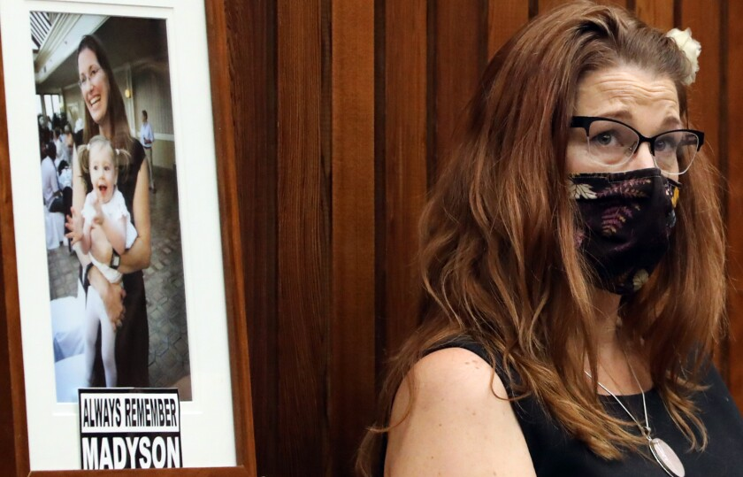 Madyson Middleton's mother, Laura Jordan