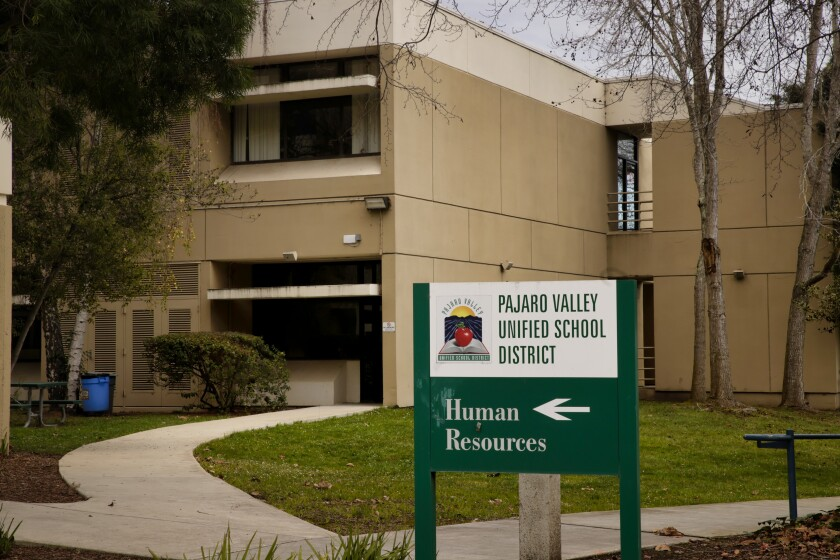 Based in Watsonville, Pajaro Valley Unified School District is the largest in Santa Cruz County.