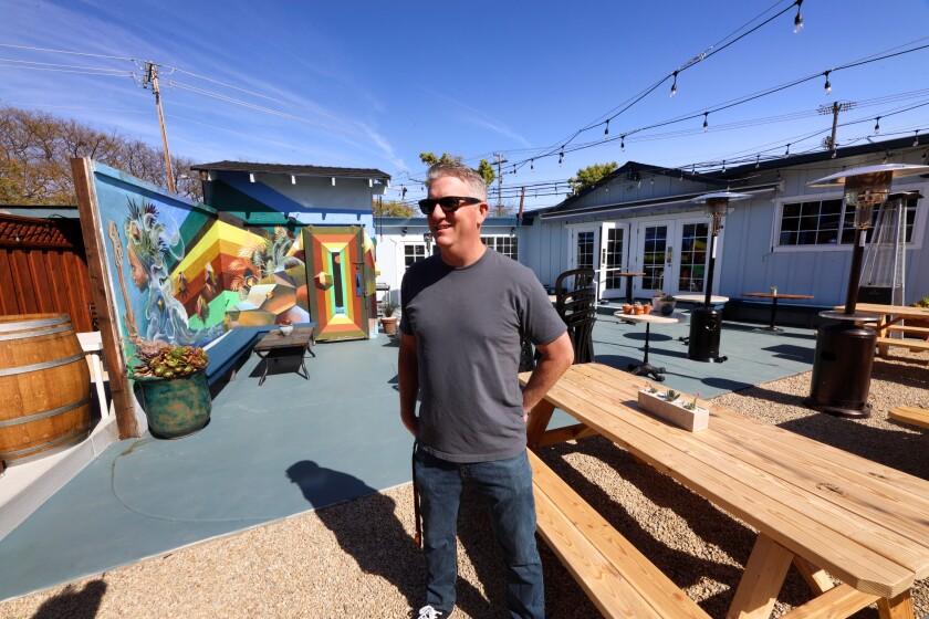 Moe's Alley co-owner Brian Ziel