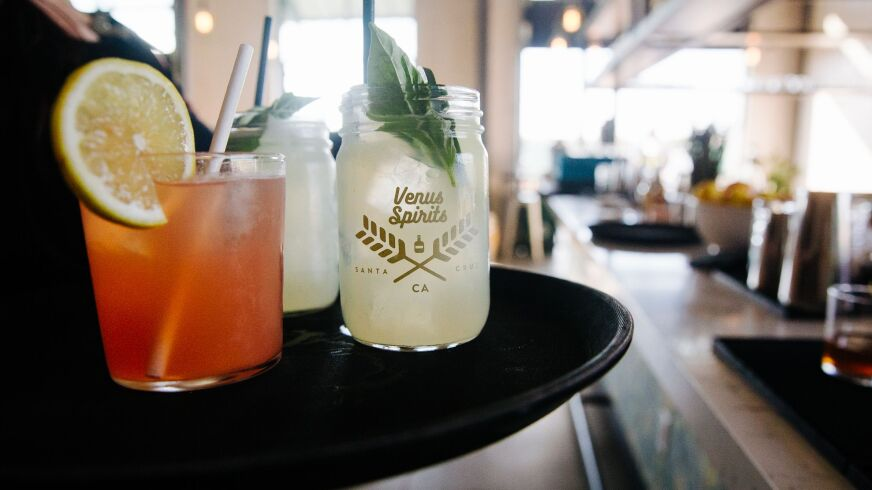 The drinks served up at Venus are a among the area's most inventive.