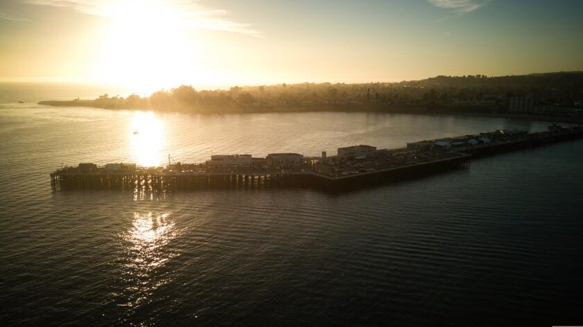 Santa Cruz Wharf on Nov. 24, 2020