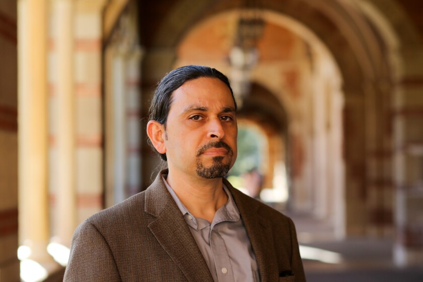 Michael Calderon-Zaks, an adjunct professor of sociology at UCSD and formerly at UCLA.