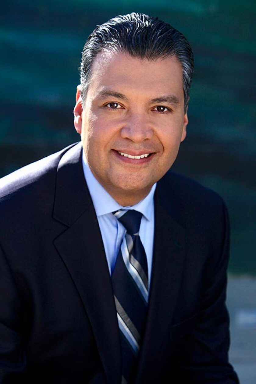 Alex Padilla will be the first Latino to represent California in the U.S. Senate.