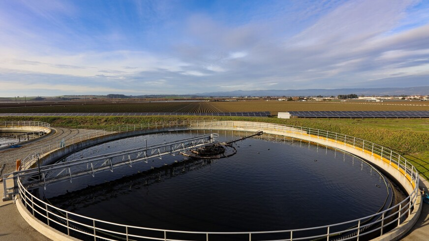 The Watsonville Wastewater Treatment Plant