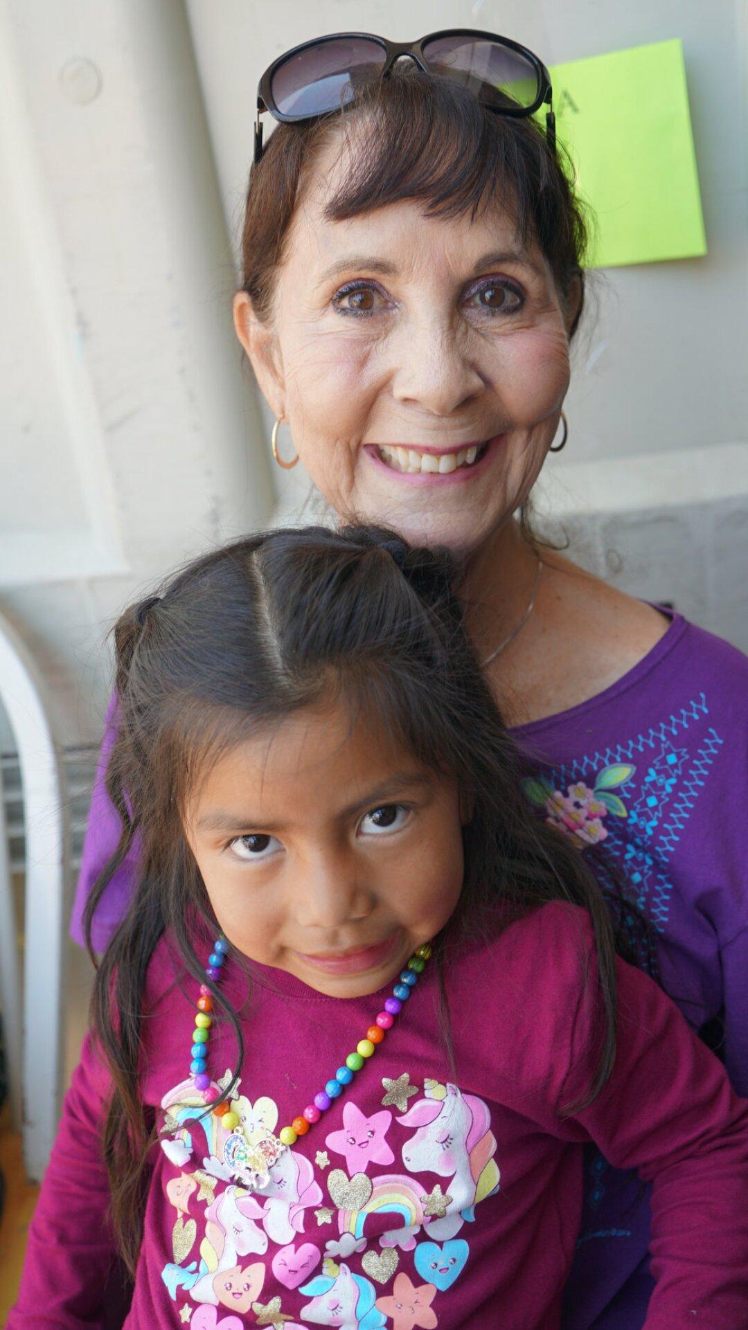 Ann Lopez and friend