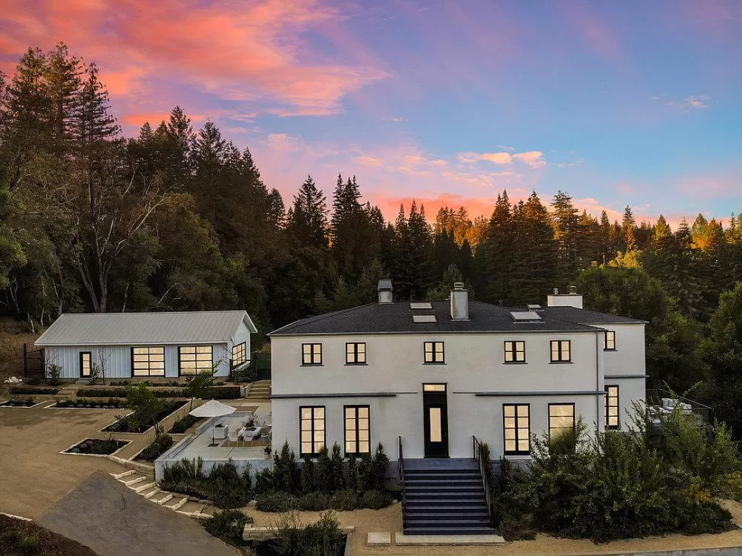 The four-bedroom, three-bath house at 200 Branson Ranch Rd. sold for $2.46 million.