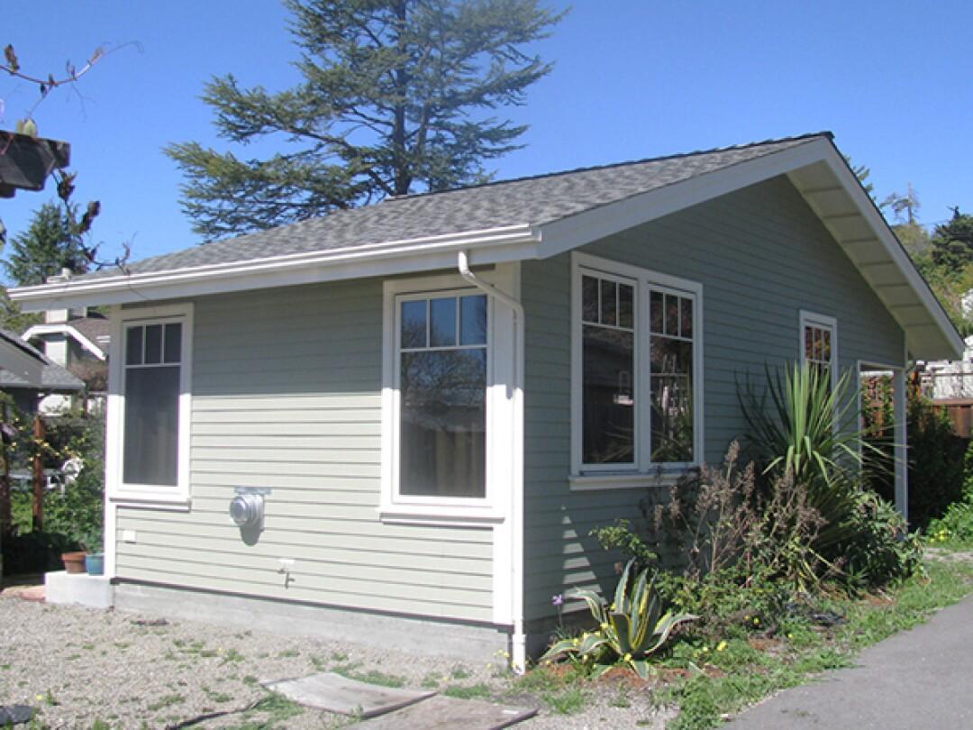 An ADU on Santa Cruz's Westside.