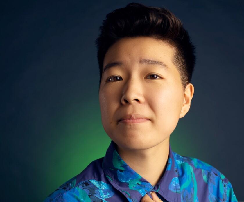 Stand-up comedian Irene Tu.