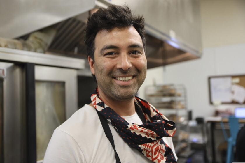 Diego Felix, the Argentine chef behind Fonda Felix empanadas.