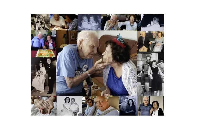 Gene and Doris Johnson over the years