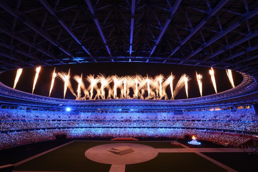 Tokyo, Japan, Sunday, August 8, 2021 - Tokyo 2020 Olympics Closing Ceremony.
