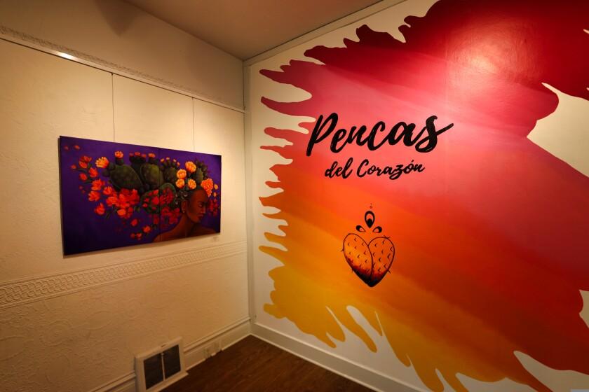 The Pencas del Corazón/Heart of the Cactus exhibit runs at Pajaro Valley Arts in Watsonville through Aug. 1.