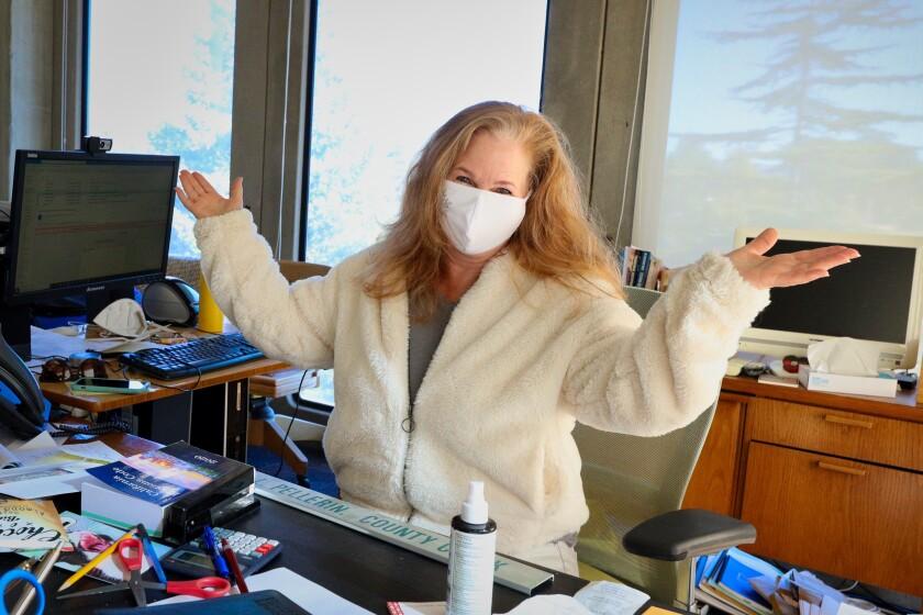 Gail Pellerin is retiring as Santa Cruz County Clerk after 16 years.