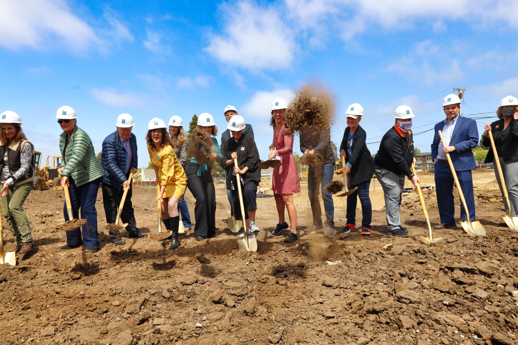 Groundbreaking ceremony for health care and housing campus at 1500 Capitola Road in Live Oak on May 22, 2021.