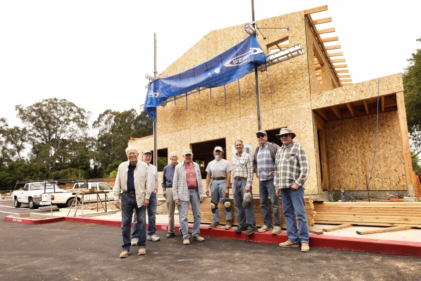 Tuesdays are typically blocked off for the Golden Hammer crew to volunteer with Habitat.