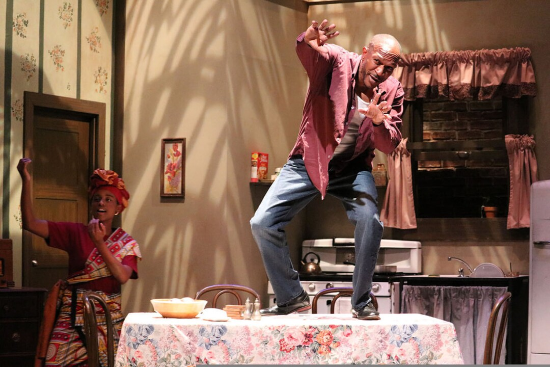 African American theater Arts Troupes 2018 production of Raisin in the Sun at UCSC