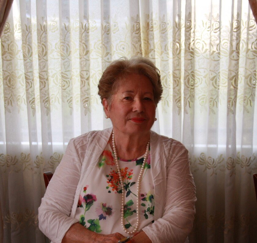 Maria Gamboa died of COVID-19 in Loma Linda on April 3. She was 82.