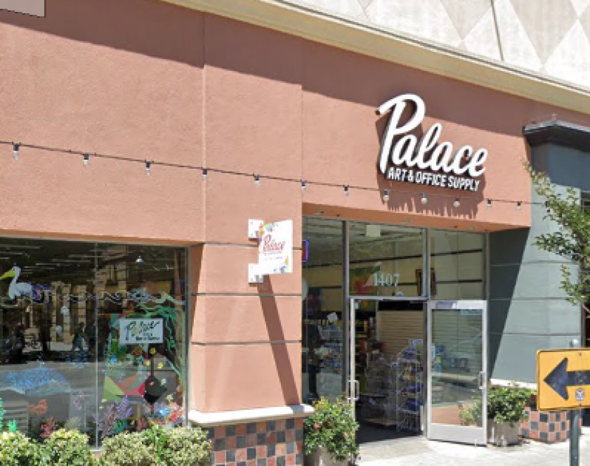 Palace Art & Office Supply has vacated its storefront in downtown Santa Cruz.